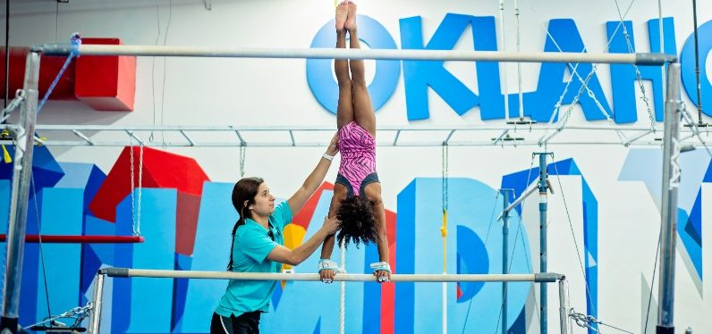 Oklahoma Gold Gymnastics Uneven Bars